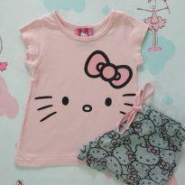 Pijama Hello Kitty (item 531) - 1 ano - Hello Kitty by Sanrio