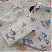 Pijama pirata (item 618) - 1 ano - Artesanal