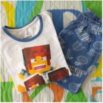 Pijama authentic games (item 628) - 7 anos - Renner