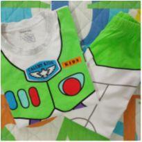 Pijama BuZz (item 634) - 4 anos - Importado