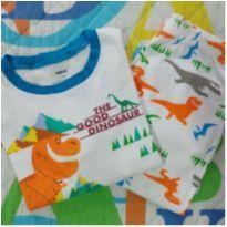 Pijama Bom dinossauro (item 632) - 4 anos - Importado