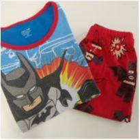 Pijama Lego Batman (item 689) - 6 anos - Importado