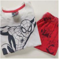 Pijama Curto Homem aranha (item 687) - 6 anos - MARVEL