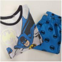 Pijama Curto Batman (item 688) - 6 anos - DC Comics