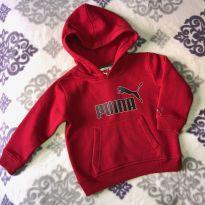 Moletom vermelho Puma com capuz - 2 anos - Puma