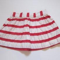 122 Saia listrada vermelha e branca Oshkosh 9M - 9 meses - OshKosh
