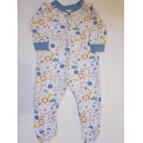 133 Macacão Pijama bichinhos - 6 a 9 meses - Babies R Us
