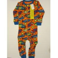 97 Macacão Pijama de Zíper 12M GAP - 1 ano - Baby Gap