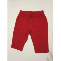 105 Calça Básica Vermelha 3M - 0 a 3 meses - Baby Gap