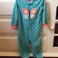 178 Pijama fechado borboleta - 24 a 36 meses - Carter`s