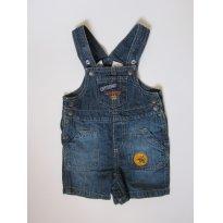 40 Macacão Jeans Curto LINDO - 6 a 9 meses - Koala Baby