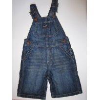 77 Macacão Jeans Curto 3T - 3 anos - OshKosh