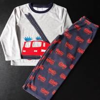 Conjunto pijama fleece Bombeiros (item 388)