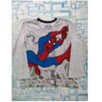 Camiseta Homem Aranha (item 448) - 6 anos - MARVEL