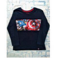Camiseta Capitão América (item 447) - 5 anos - MARVEL