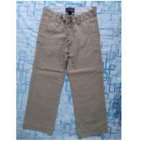 Calça sarja bege (item 454) - 5 anos - Place