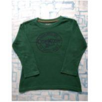 Camiseta térmica verde (item 461) - 4 anos - OshKosh