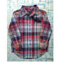 Camisa xadrez (item 470) - 5 anos - Ralph Lauren