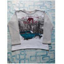 Blusa moleton Urso Polar(item 487) - 6 anos - Brandili