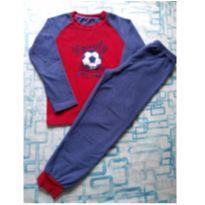 Pijama Futebol fleece (item 486) - 7 anos - Primark