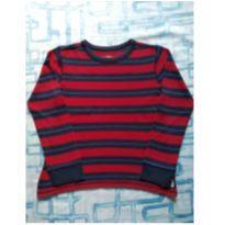 Camiseta térmica vermelha (item 489) - 5 anos - OshKosh