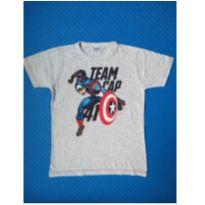 Camiseta Capitão América (item 507) - 8 anos - MARVEL