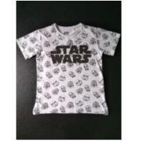Camiseta Star Wars (item 551) - 8 anos - cea e outro