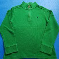 Suéter verde Ralph Lauren (item 670 - 7 anos - Ralph Lauren