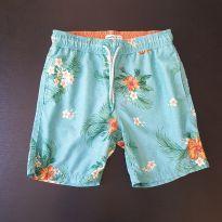 Bermuda verde florida (item 712) - 8 anos - Fuzarka
