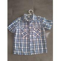 Camisa xadrez - 4 anos - Thony mix