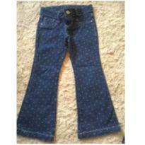 Calça jeans de bolinhas - 4 anos - Toys & Kids