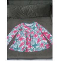 Blusa manga longa florida - 6 anos - Hering Kids