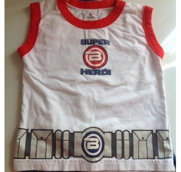 Camiseta com capa - 1 ano - Brandili