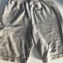 Shorts cinza - 24 a 36 meses - Não informada