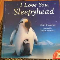 I love you sleephead - Sem faixa etaria - Importada