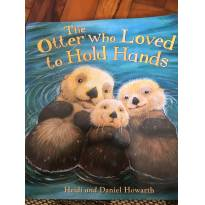 The otter who loved to hold hands - Sem faixa etaria - Importada