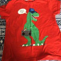 Camiseta Dino - 4 anos - Baby Rebels