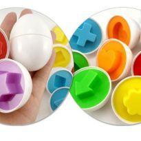 Ovos de Encaixe Geométricos