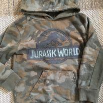 Blusa Jurassic World - 4 anos - Não informada