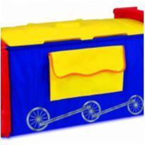 Trem porta brinquedos.