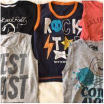 Camisetas - 5 anos - Variadas