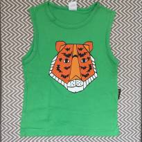 Camiseta Tigre - 2 anos - BB Básico