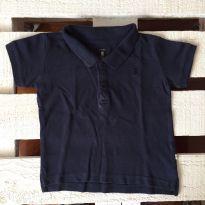 Camisa Polo Azul Marinho - 12 a 18 meses - Carter`s e Teddy Boom