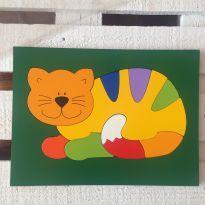 Quebra cabeça gato - Sem faixa etaria - Não informada