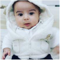 Colete Infantil peluciado - 0 a 3 meses - Bambini