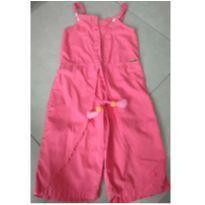 Macacão calça rosa - 5 anos - Alphabeto