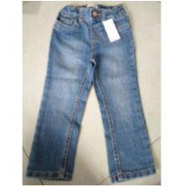 Calça Jeans com ajuste - 2 anos - The Children`s Place