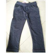 Calça Jeans escura - 3 anos - Sem marca