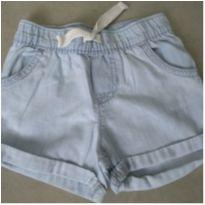 Short Jeans - 9 a 12 meses - Carter`s