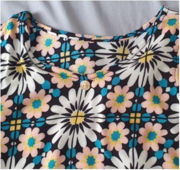 Vestido Flores - 4 anos - Sem marca e sem etiqueta